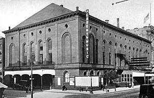 Alexander Saeltzer - Academy of Music, New York, c.1909