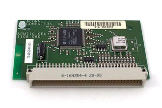 RiscPC - An ARM 710 CPU card for the RiscPC