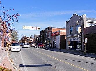 Acton, Ontario - Mill Street in Acton