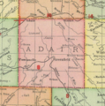 Adair County, Iowa map from 1903.png