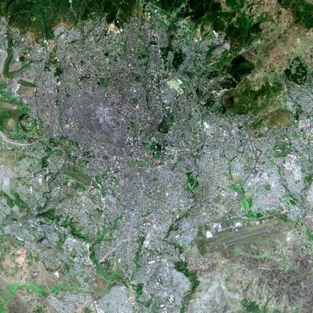 Addis Ababa seen from SPOT satellite Addis Ababa SPOT.1003.jpg