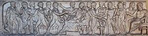 Alcestis - Image: Admetus Alcestis Chiaramonti Inv 1195