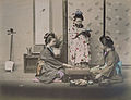 Adolfo Farsari - Women and a girl playing go.jpg