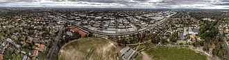 Blackburn, Victoria - Aerial panorama of Blackburn, Victoria. Shot September 2018.