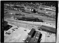 Aerial view of station - Erie Railway, Salamanca Station, Atlantic Street, Salamanca, Cattaraugus County, NY HAER NY,5-SAL,1A-1.tif