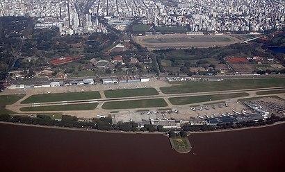 Cómo llegar a Aeroparque Jorge Newbery en transporte público - Sobre el lugar