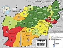 War In Afghanistan Present Wikipedia - Afghanistan taliban dostums massouds map