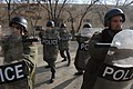 Afghan police practicing riot control.jpg