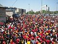 Aficionados Galatasaray. Foto Miguel Angel Otero Soliño.JPG