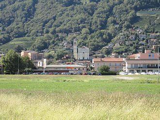 Agno, Ticino - Agno village