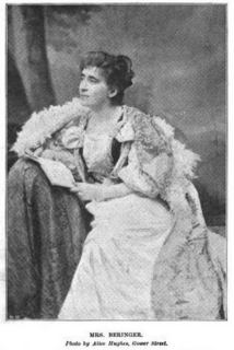 Aimée Daniell Beringer American-born English playwright, theatrical manager, novelist, commentator
