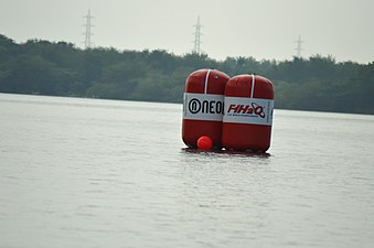 Air bags for route guiding (F1H2O Amaravathi).jpg