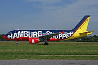D-AKNI - A319 - Eurowings