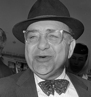 Akim Tamiroff - Akim Tamiroff in the Netherlands in 1964