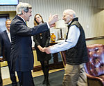Alan Gross released from Cuban prison, arrives at Joint Base Andrews 141217-F-WU507-610.jpg
