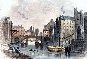 Albert Bridge, Manchester - Albert Bridge, 1854