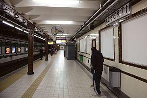 Alberti (Buenos Aires Underground) - Image: Alberti GCBA(2)