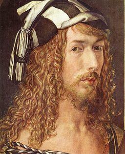 Albrecht Dürer - Self-Portrait at 26 (detail) - WGA6926