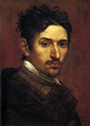 Alessandro Tiarini - Self-Portrait, (Galleria Savelli, Bologna)