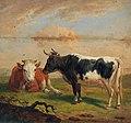 Alexander Johann Dallinger von Dalling - Cows in the Pasture.jpg