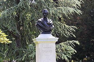 Alexandre Calame - Alexandre Calame monument. Geneva