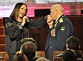 Alexei Leonov and Sofia Rotaru during a gala ceremony (cropped).jpg