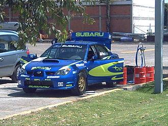 Travis Pastrana - Pastrana's Subaru Impreza WRX STI.