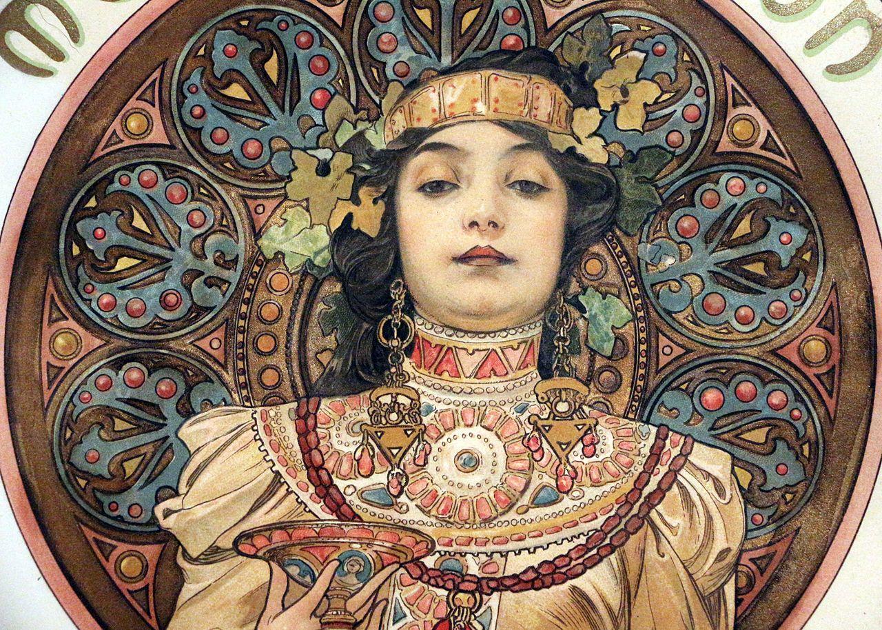 File:Alfons mucha, moët et chandon, 1899 (richard fuxa ...