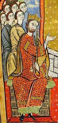Alfonso II de Aragón from Liber feudorum maior.jpg