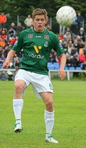 Alfreð Finnbogason - Alfreð playing for Breiðablik