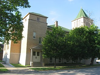 National Register of Historic Places listings in Vigo County, Indiana - Image: Allen Chapel AME in Terre Haute