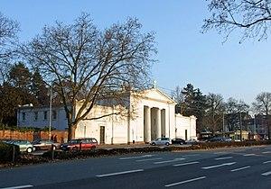 Frankfurt Main Cemetery - Old portal