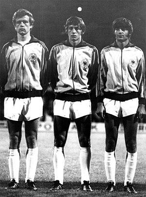 Friedhelm Haebermann - Haebermann (left), with Edgar Schneider and Jürgen Kalb in 1971.