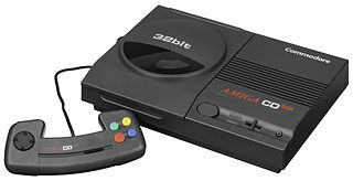 Amiga CD32 video game console