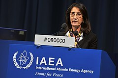 Amina Benkhadra at the 54th Regular Session of the IAEA General Conference.jpg