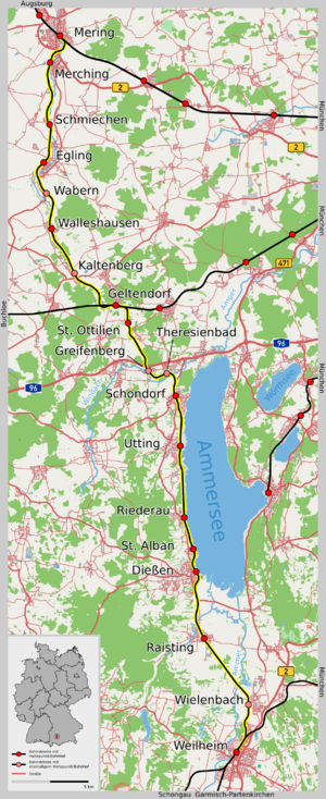 Bahnstrecke Meringweilheim Wikipedia