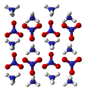 Ammonium nitrate chemical compound
