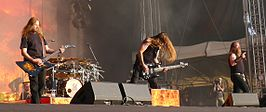 Amon Amarth live in 2011.