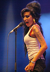 Amy Winehouse la Eurockéennes 2007