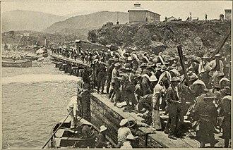 Battle of Las Guasimas - Troops land, unopposed