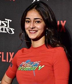 Ananya Panday at Netflix screening.jpg