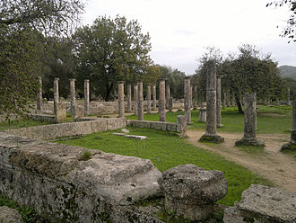 Olympia, Greece - View of the Palestra