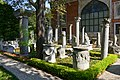 Ancient columns within the Istanbul Archaeology Museums' complex inner yard, Turkey.jpg