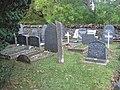 Ancient stone in Ynys churchyard - geograph.org.uk - 1564475.jpg