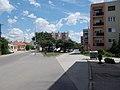 Andrássy utca Park utca elágazás, 2019 Csorna.jpg