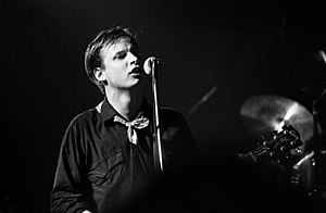 Andy Partridge - Partridge with XTC playing Toronto's Music Hall, February 1980