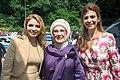 Angélica Rivera, Emine Erdoğan and Juliana Awada in Hamburg, Germany, July 2017.jpg