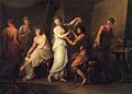Angelica Kauffman - Zeuxis Selecting Models for His Painting of Helen of Troy.jpg