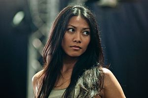 Anggun - Anggun at Fete de l'Espoir, Geneva, Switzerland, in May 2005.
