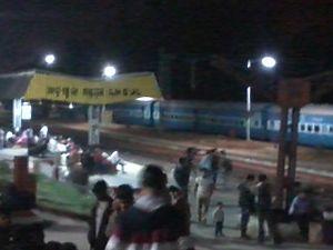 Nalconagar, Angul - Angul railway station